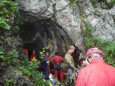 51.jaskyniarsky týždeň Špania Dolina - jeskyně Dedkovské diery (29.7.2010)