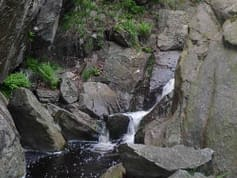 Medvědí vodopády - Krušné hory (6.6.2010)