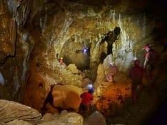 Javoříčské jeskyně - Olomoucký dóm