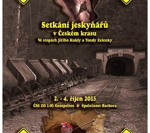 Setkání jeskyňářů 2015 – v Českém krasu