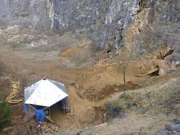Akce v Petzoldovo jeskyních 23.3.2013