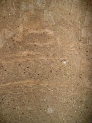 sedimenty mezi 10. a 11. metrem