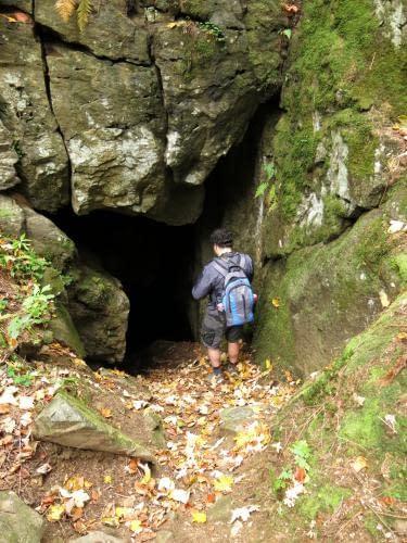 vstup do Patzeltovy jeskyně