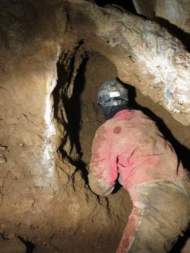 jeskyně U Jedelské cesty - nové pracoviště