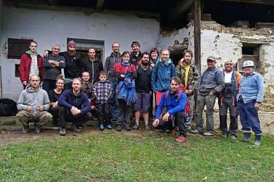 Víkendovka pod Landrovcem a Beckovská jaskyňa 15 – 17.9.2017