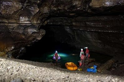 Slovinsko – Expedice Kačna jama – Reka exploration 2017