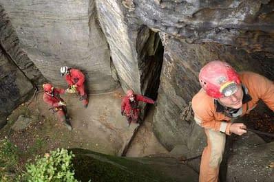Setkání jeskyňářů 2017 v Labských pískovcích 22-24.9.2017