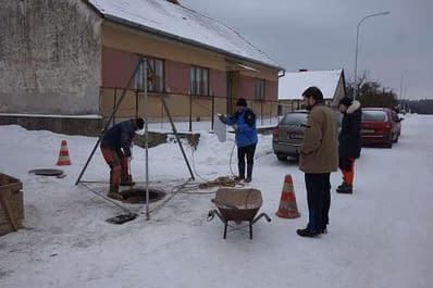 Dobývání ledového království v Rudickém propadání