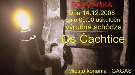 Pozvánka pre jaskyniarov OS Čachtice