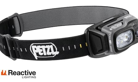 Nová kompaktní čelovka Petzl Swift RL Pro