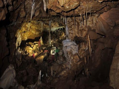jeskyně Liščí, Rumový dóm